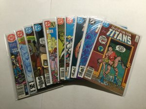 Tales Of The Teen Titans 45-52 60 Annual 3 Near Mint Nm Dc Comics