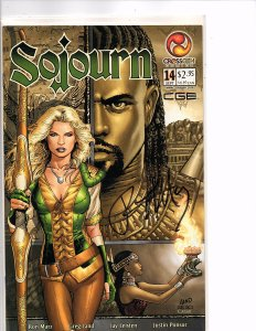 Crossgen Comics Sojourn #14 Greg Land Art Signed By Ron Marz With COA