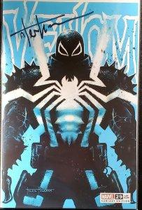 Venom #29 SIGNED BY Kirkham TRADE  Variant W/ COA Crain virus knull