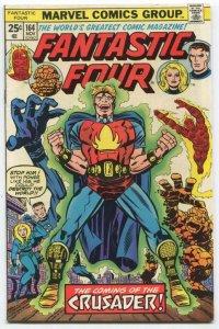 FANTASTIC FOUR #164 (7.0) 1st App Marvel Boy since Golden Age (BG01)