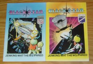Blackstar #1-2 VF/NM complete series - imperial comics - black star - jenkins