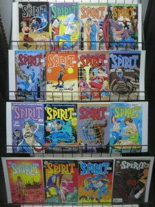 Spirit by Will Eisner and Co. Lot of 21Diff from Kitchen Sink Press and DC