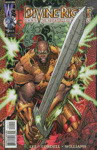 Divine Right #9 VF/NM; Image | save on shipping - details inside