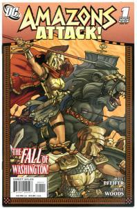 AMAZON ATTACKS #1 2 3 4 5 6, NM, Wonder Woman, Pete Woods, Pfeifer, 2007,1-6 set