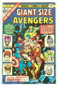 Giant-Size Avengers 5   52 Pages