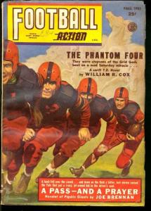FOOTBALL ACTION 1951 FALL-GEORGE GROSS ACTION COVER VG/FN