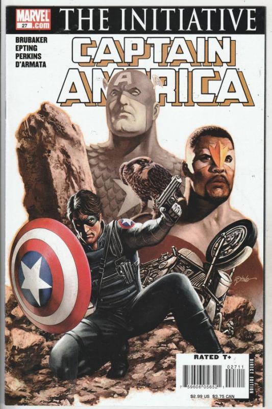 Captain America #27 (Jun-07) VF/NM High-Grade Captain America