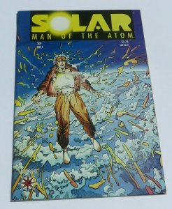 Solar Man of the Atom #1 NM/NM+ 9.4~9.6 WP High Grade 1st App Solar Barry Smith