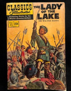 Classics Illustrated #75 (1950)