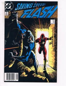 Flash #16 VF DC Comics TV Show Comic Book JLA Superman 1988 DE22