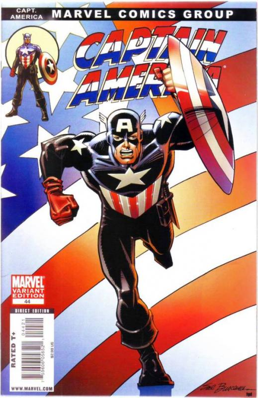 Captain America #44 (Jan-09) NM/MT Super-High-Grade Captain America