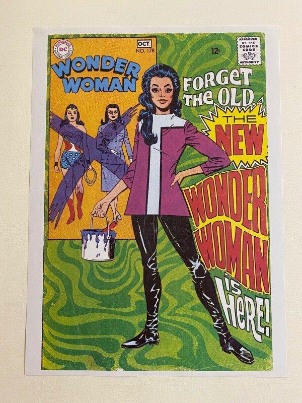 Wonder Woman #178 DC Comics poster by Mike Sekowsky