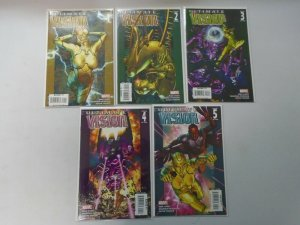 Ultimate Vision set #1-5 8.0 VF (2007)