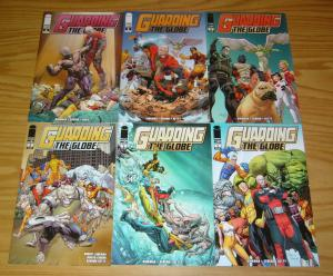 Guarding the Globe #1-6 VF/NM complete series - robert kirkman - invincible set