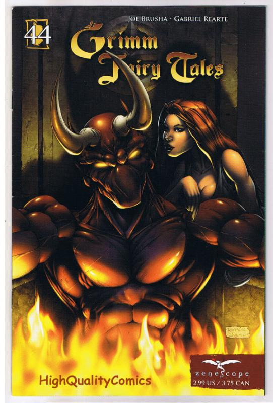 GRIMM FAIRY TALES 44, VF+, Devil's Brother, Zenescope, 2005, more GFT in sto