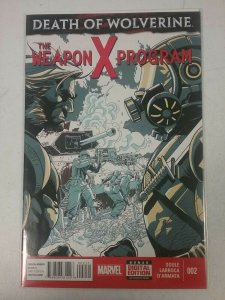 Death of Wolverine: The Weapon X Program #2 Marvel Comic 2014 NW142