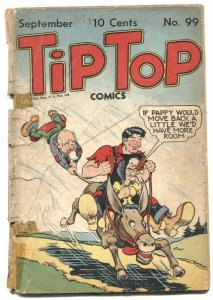 Tip Top Comics #99 1944- Mirror Man- Li'l Abner low grade