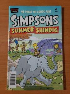 Simpsons Summer Shindig #6 ~ VERY FINE - NEAR MINT NM ~ 2012 Bongo Comics