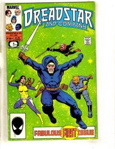 Lot Of 12 Dreadstar Marvel Epic Comic Books # 1 2 4 4 5 6 7 8 9 10 11 12 CJ11