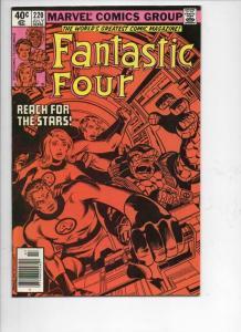 FANTASTIC FOUR #220, VF+, Sinnott, Byrne, 1961 1980, Marvel, UPC