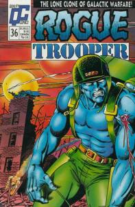 Rogue Trooper (1st Series) #36 FN; Fleetway Quality | save on shipping - details
