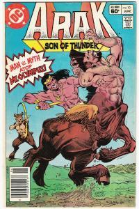 Arak Son of Thunder #10 (DC, 1982) FN-