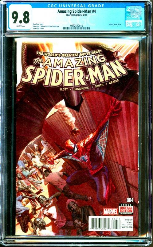 Amazing Spider-Man #4 CGC Graded 9.8
