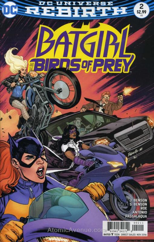 Batgirl & the Birds of Prey #2 FN; DC | save on shipping - details inside