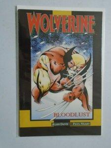 Wolverine Bloodlust #1 8.0 VF (1990)