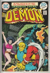 Demon, The #16 (Jan-74) VF+ High-Grade Jason Blood, Merlin