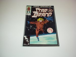 Marvel New Universe STAR BRAND Comic #1, October 1986 New, Unread