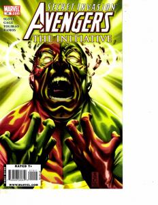Lot Of 6 Avengers The Initiative Marvel Comic Books #19 20 21 22 23 24  BF3