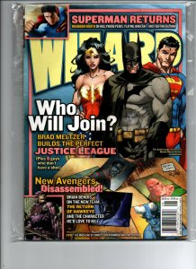 Wizard Magazine #178 - Michael Turner Justice League Variant - VF/NM