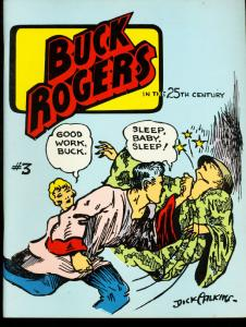 BUCK ROGERS #3-1967-REPRINTS-LIMITED EDITION FN
