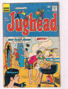 Jughead #197 GD/VG Archie Series Comic Book Oct 1971 DE29