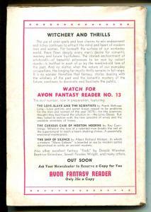 Avon Fantasy Reader #12 1950-Sax Rohmer-Robert E Howard-Welman-pulp-VG