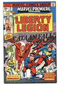 MARVEL PREMIERE #29 1976 Liberty Legion - Marvel - comic book