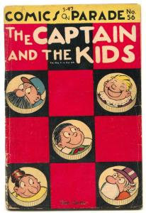 Comics On Parade #56 1947 Captain and the Kids G