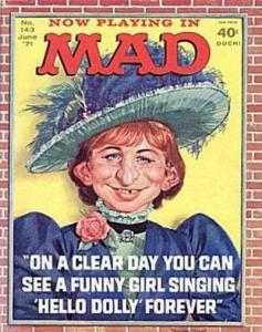 Mad (1952 series) #143, Fine+ (Stock photo)