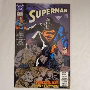 Superman 56 Very Fine Art by Ed Hannigan