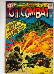 G.I. Combat #128 (Mar-68) FN/VF Mid-High-Grade The Haunted Tank