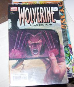 WOLVERINE # 187  marvel 2003    down the road