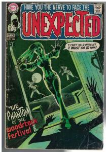 UNEXPECTED (TALES OF) 122 FR-G  Jan. 1971