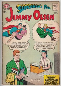 Jimmy Olsen, Superman's Pal  #75 (Mar-64) FN/VF+ High-Grade Jimmy Olsen