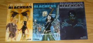 Warren Ellis' Black Gas #1-3 VF/NM complete series - regular covers - avatar 2