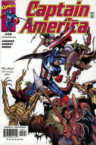 Captain America (1998 series) #28, VF (Stock photo)