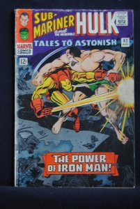 Tales to Astonish #82 Sub-Mariner/Ironman Battle