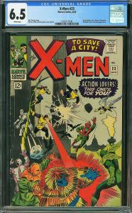 X-men #23 (Marvel, 1966) CGC 6.5