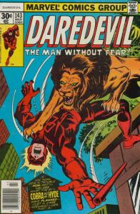 Daredevil #143 FN; Marvel | save on shipping - details inside