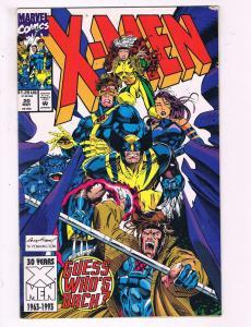 X-Men #20 VF Marvel Comics Comic Book Jim Lee Wolverine Gambit 1992 DE16